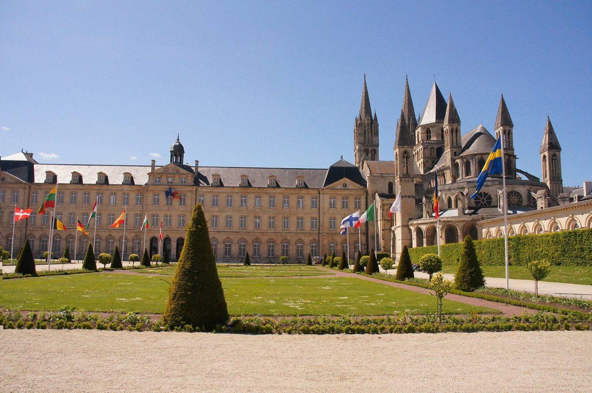 Vue d'ensemble de l'Abbaye aux Hommes
