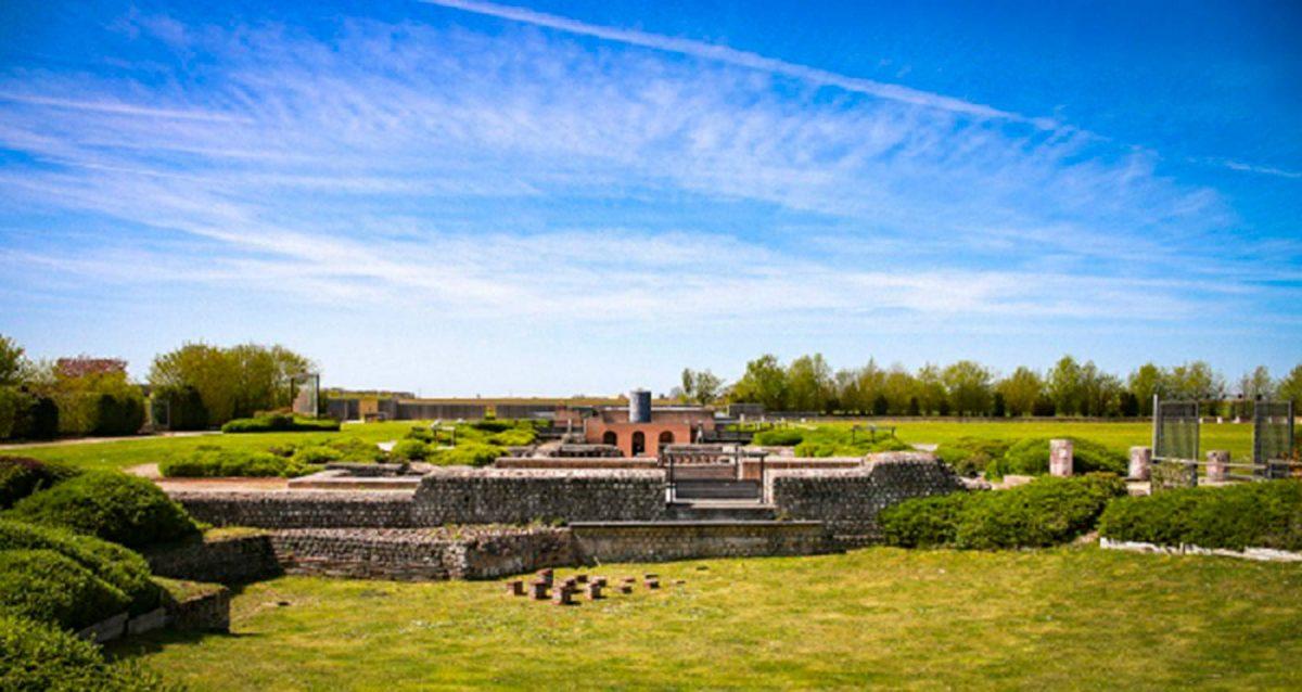 Vue d'ensemble sur le site archéologique de Gisacum