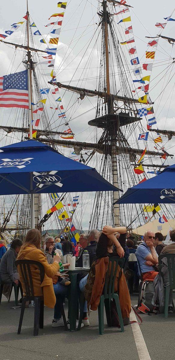 Public lors de l'Armada 2019 à Rouen