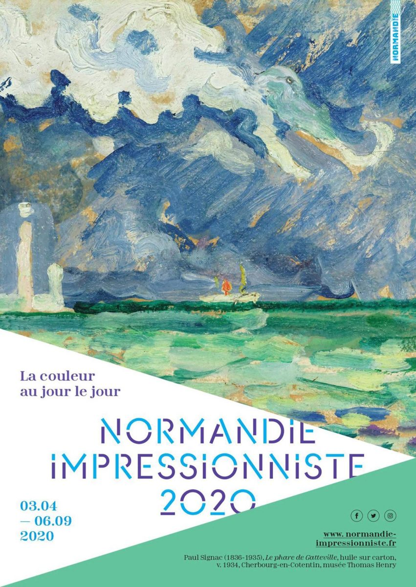 Affiche du festival Normandie Impressionniste 2020