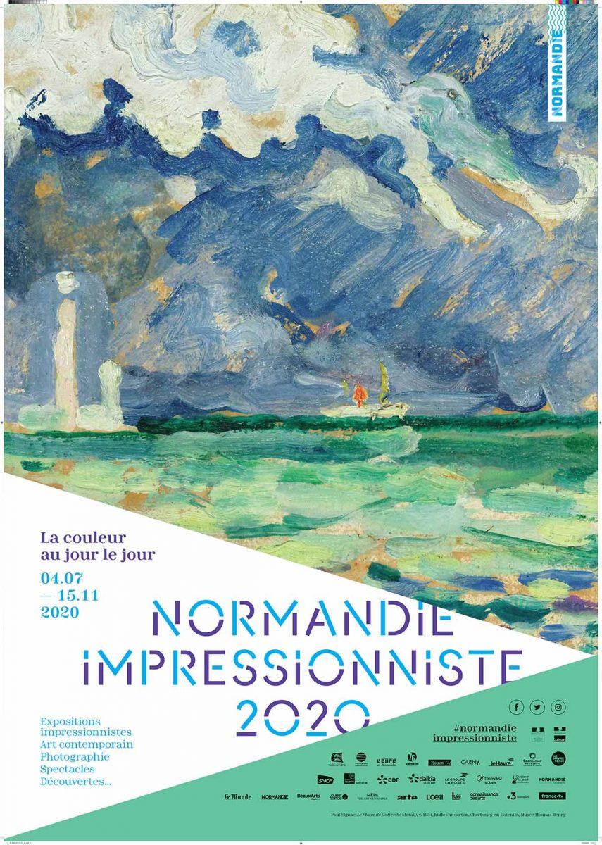 Affiche de Normandie Impressionniste