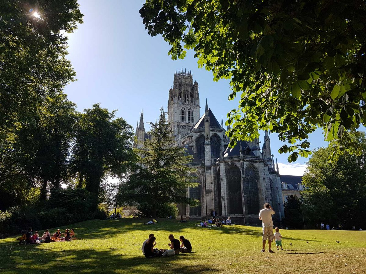 Rouen Abbatiale Saint Ouen