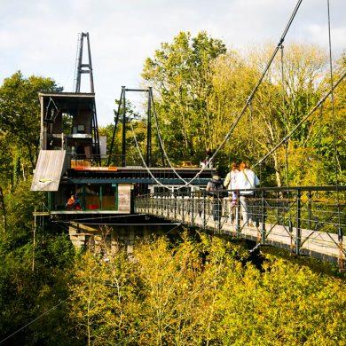 Le grand saut au Viaduc de la Souleuvre