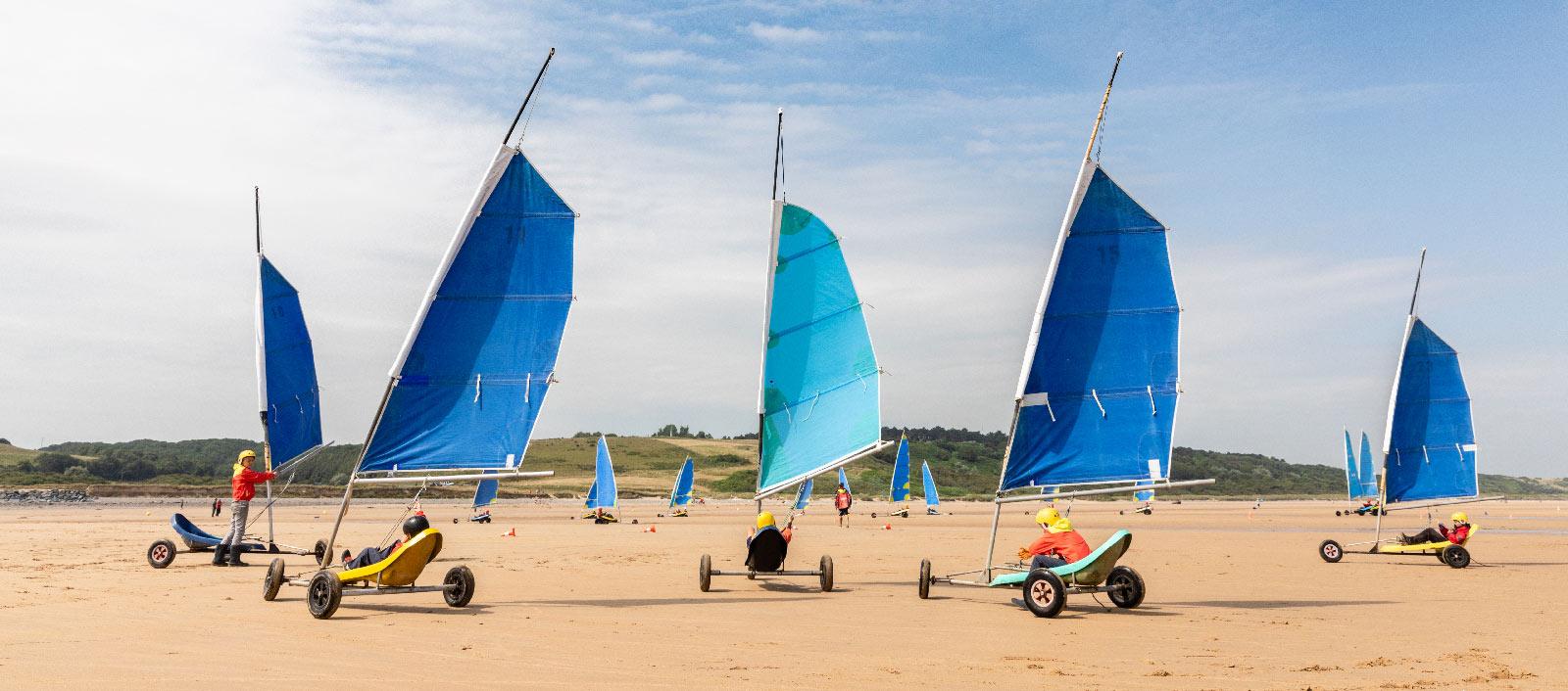 Char A Voile Normandie Tourisme