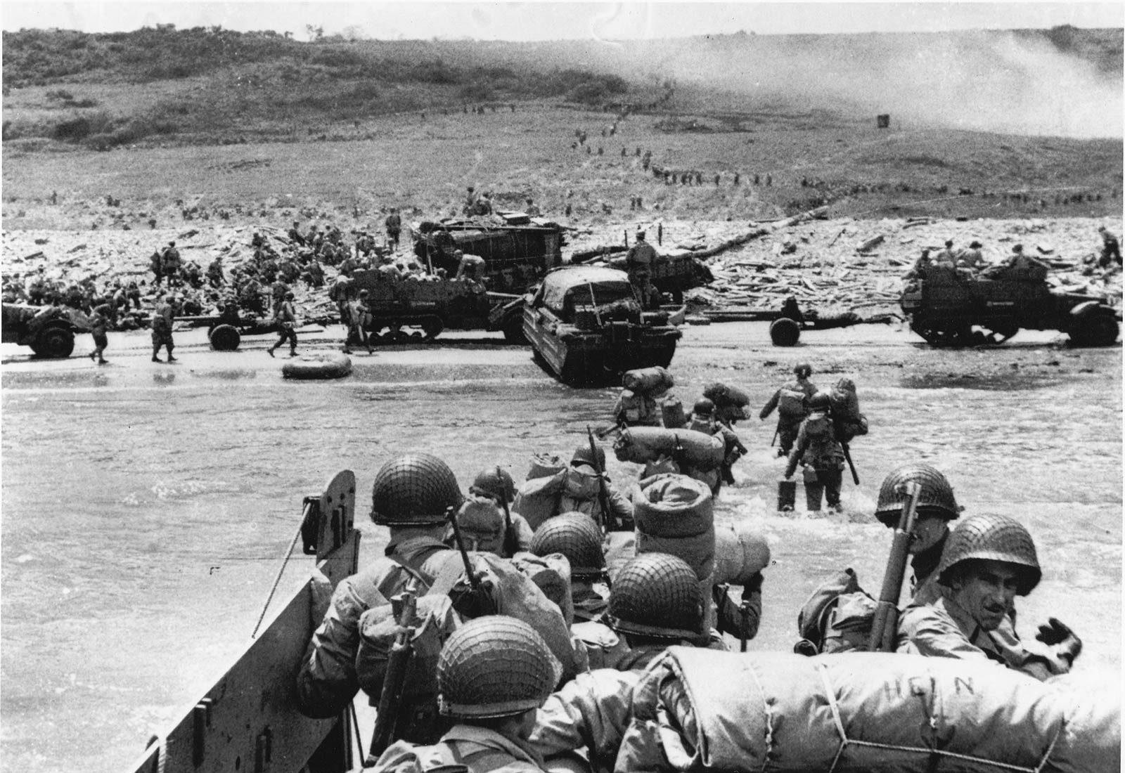 Dates Et Etapes Du Debarquement Et De La Bataille De Normandie