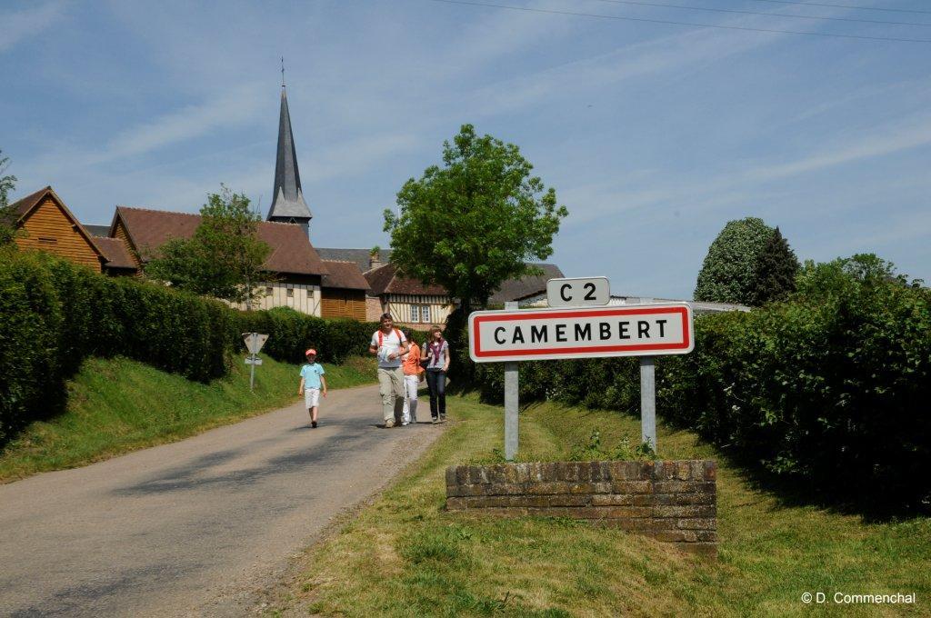 Randonnée à Camembert
