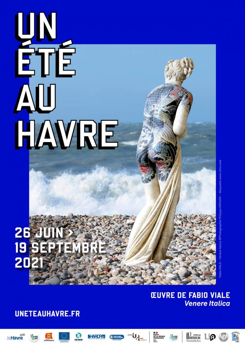 Affiche Un Eté au Havre 2021