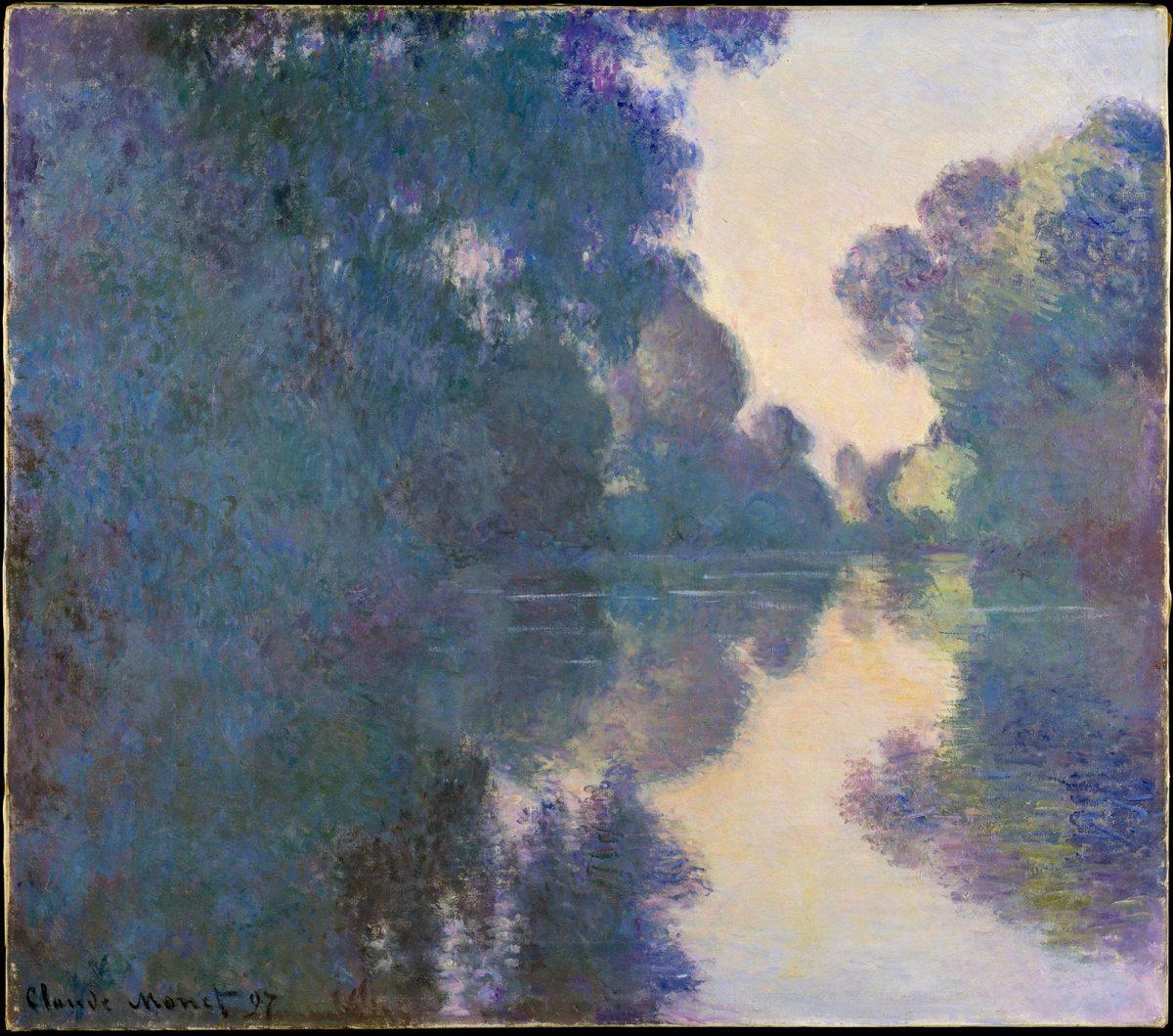Bras de seine près de Giverny Claude Monet - impressionnisme