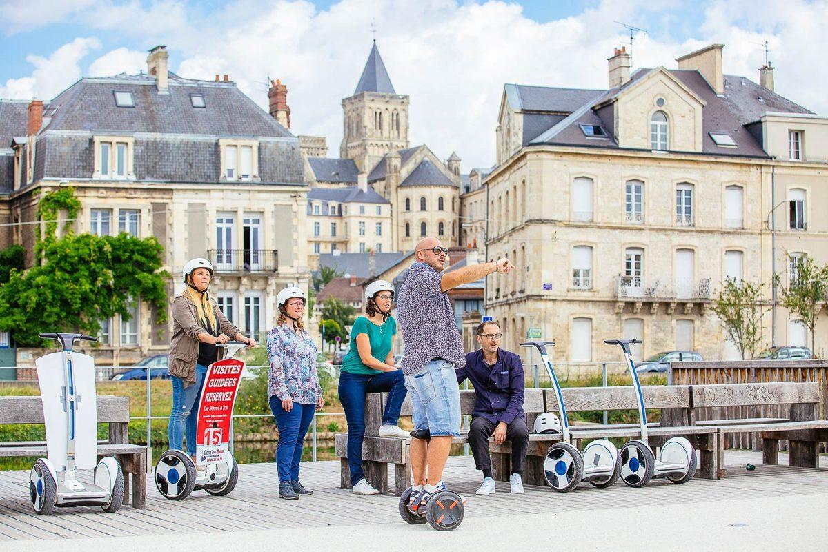 Balade en gyropode à Caen