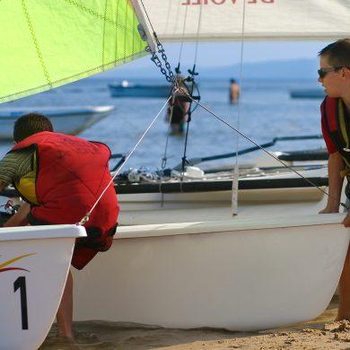 Où débuter les sports nautiques avec les enfants ?