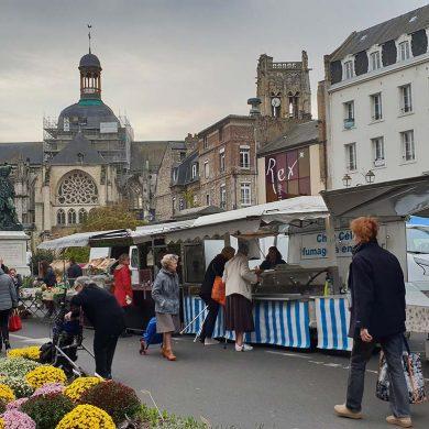 Le marché de Dieppe, Plus beau marché de France