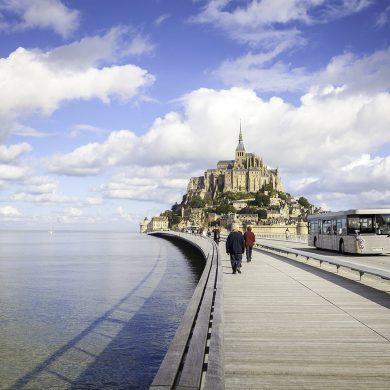 Le Mont-Saint-Michel en famille et sans voiture