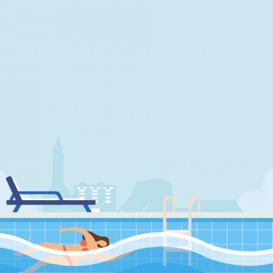 Les plus belles piscines en été