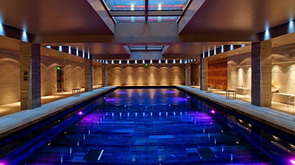 Piscine de l'hôtel de Bourtheroulde