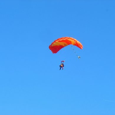 Les meilleurs spots pour sauter en parachute