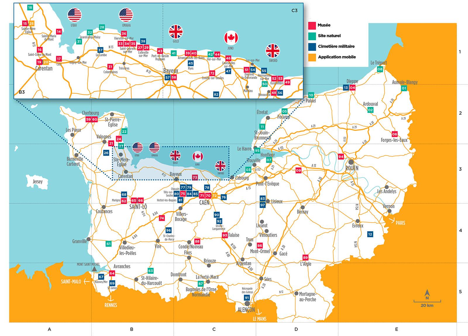 Visiter Les Plages Du Debarquement Normandie Tourisme