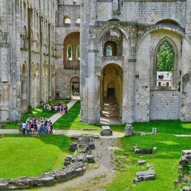 Les sites médiévaux en Normandie