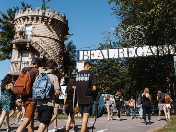 Entrée du Festival Beauregard
