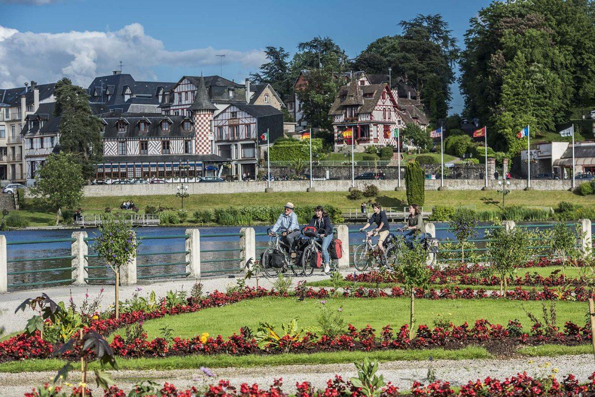 Itinéraire de la véloscénie à Bagnole-de-l'Orne