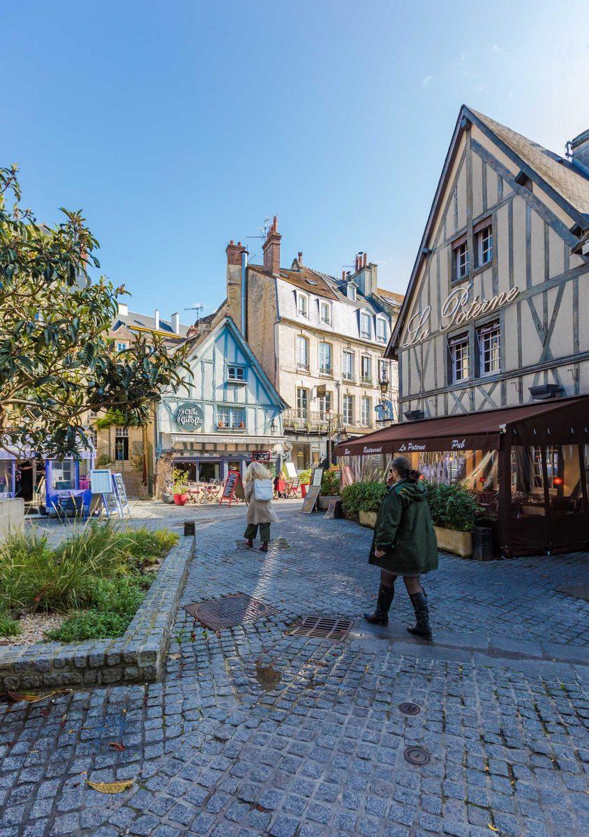 Quartier du Vaugueux dans Caen