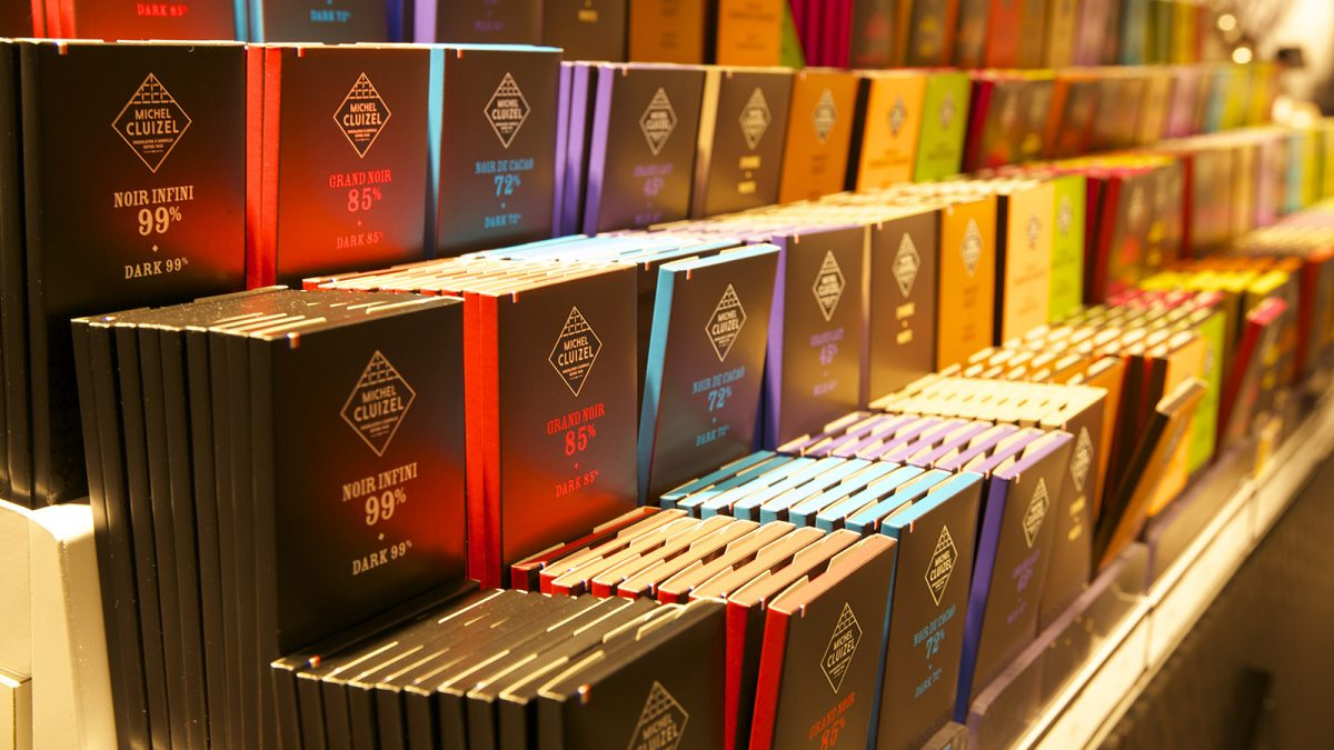 Chocolat de la chocolaterie Cluizel