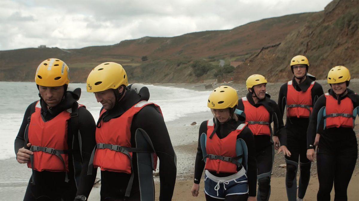 Coasteering dans le Cotentin - Expérience