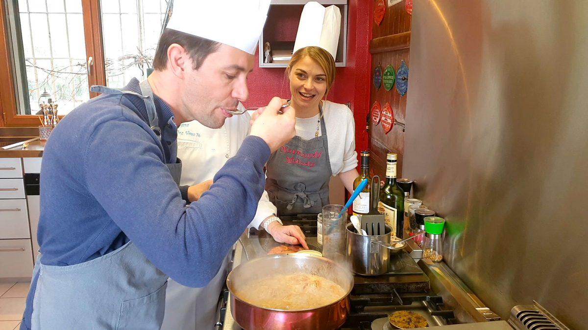 Cuisiner les recettes de Monet à Etainhus - Experience