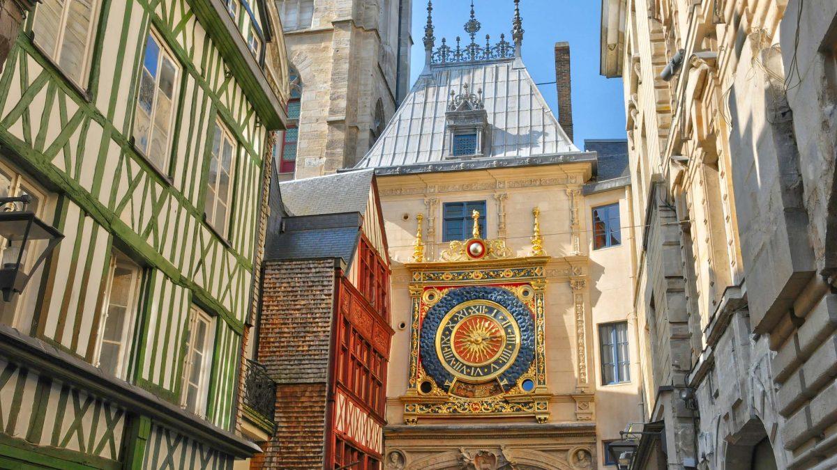 Gros Horloge à Rouen