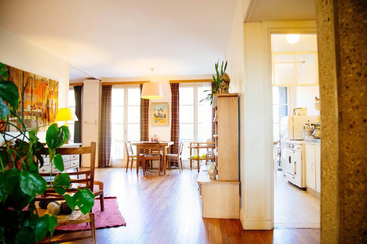 Intérieur de l'appartement témoin au Havre