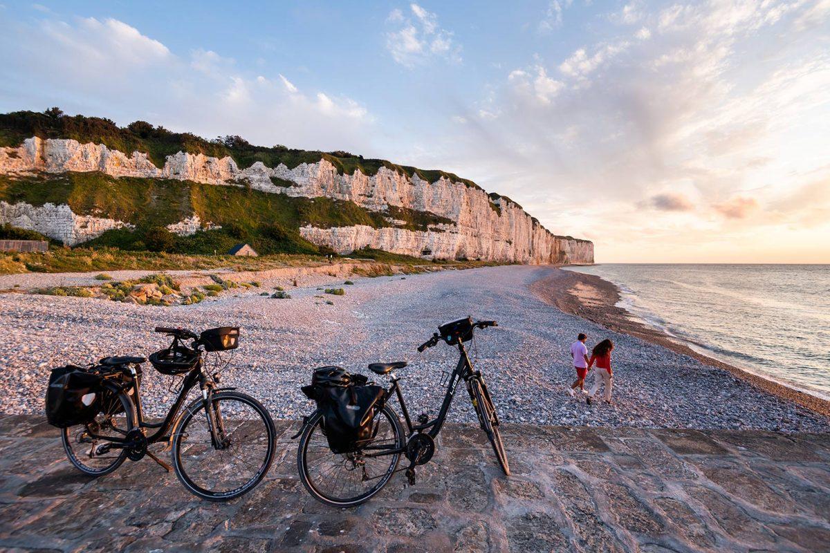 Itinéraire vélo maritime à Saint-Valéry-en-Caux