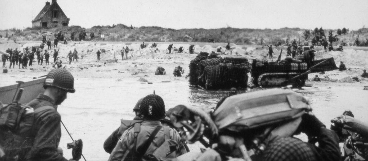 Sainte-Marie-du-Mont - Débarquement à Utah Beach - Archives D-Day