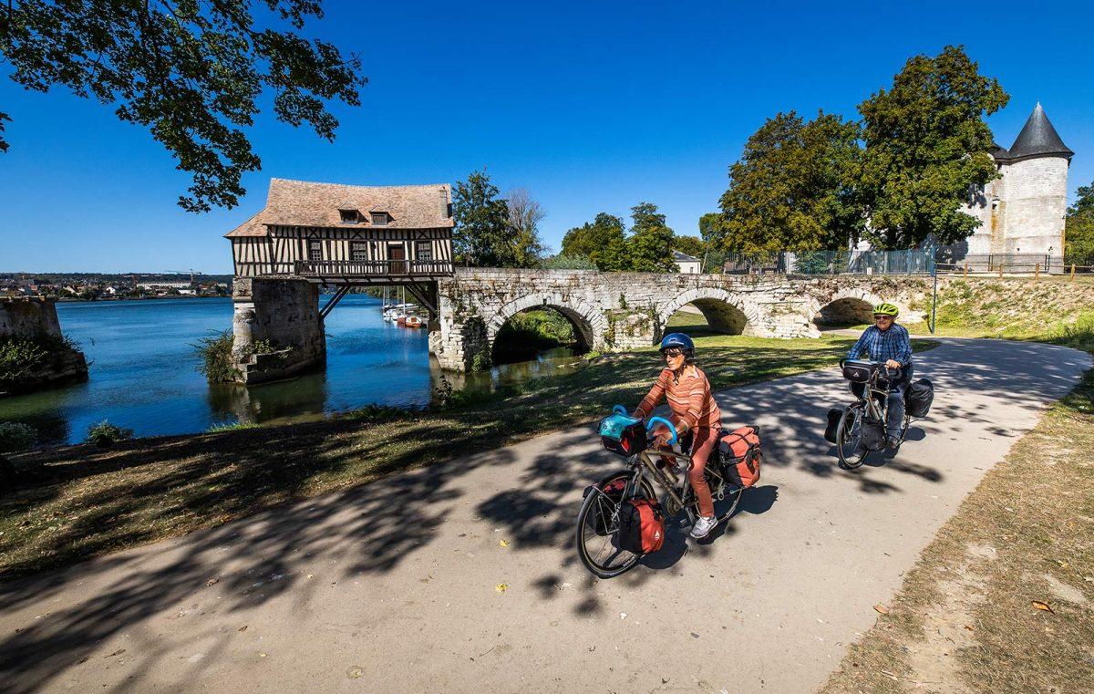 Itinéraire Seine à vélo circuit