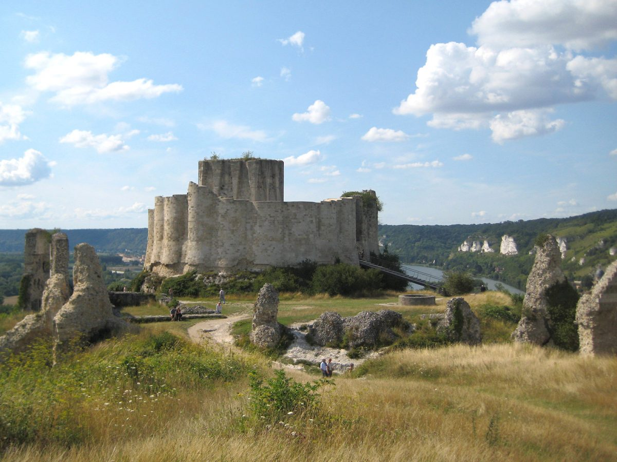 Visiter Chateau Gaillard Le Vieil Andelys Les Bords De Seine Normandie Tourisme