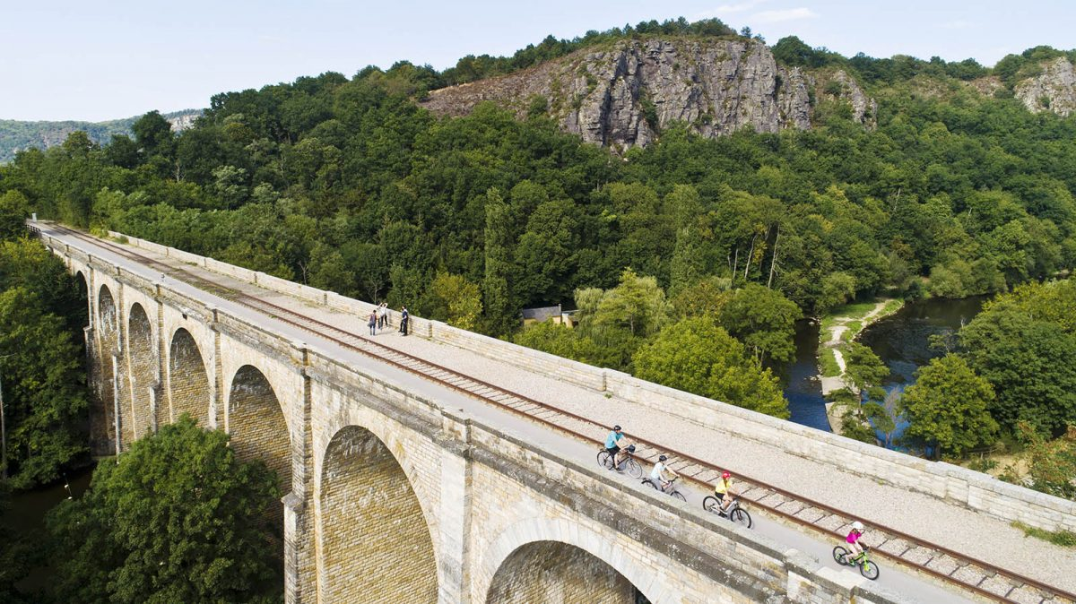Itinéraire de la Vélo Francette
