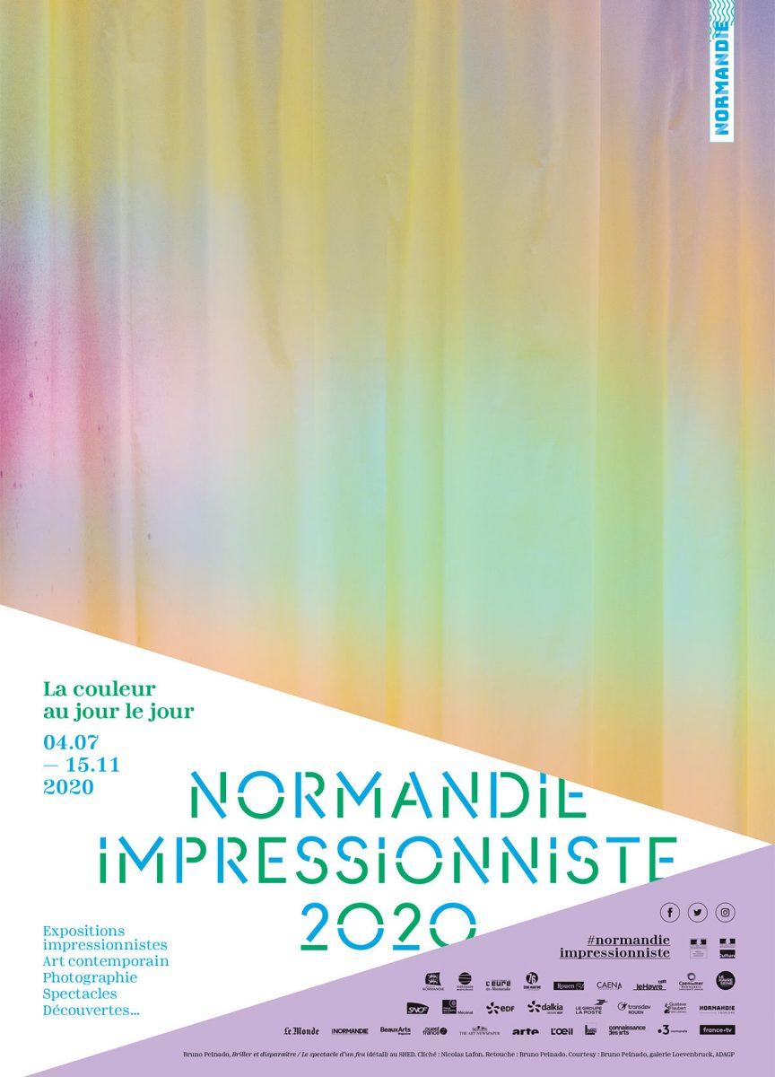 Affiche Normandie Impressionniste 2020