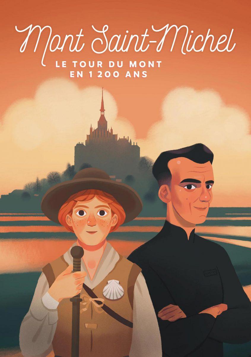 L'application Timetravel au Mont-Saint-Michel