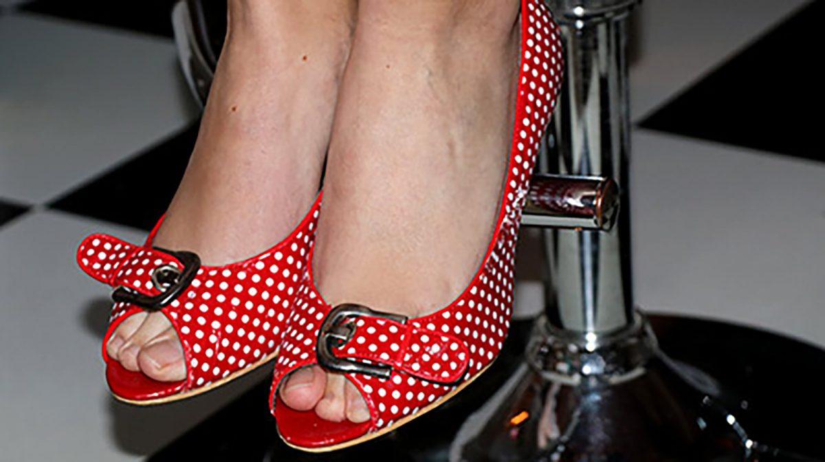 Chaussures à talons des année 50, relooking pin-up