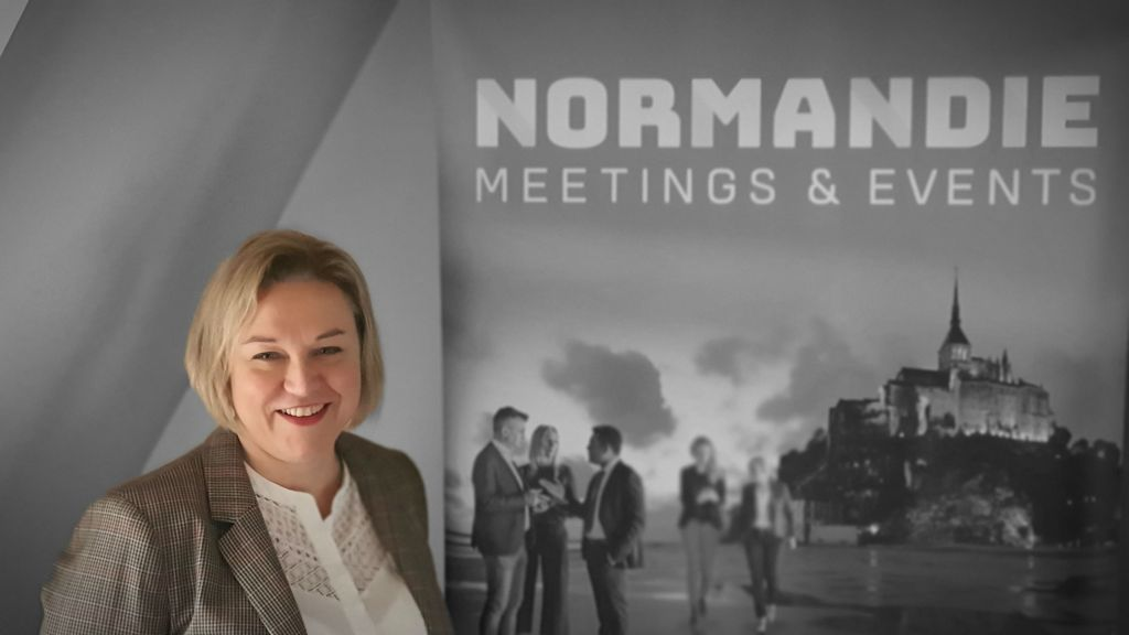 Magali Leblond, responsable du programme supers ambassadeurs Normandie Meetings & Events