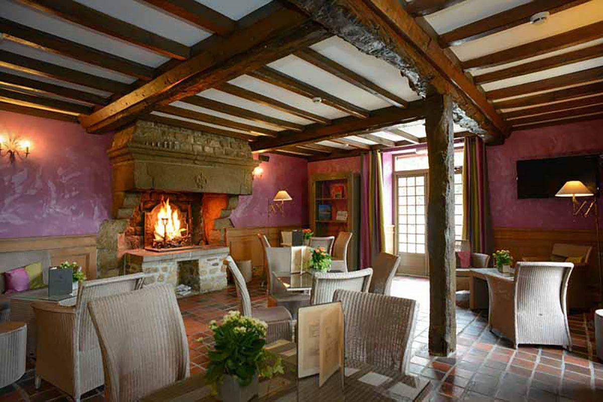 Le restaurant le Relay du Roy au Mont-Saint-Michel