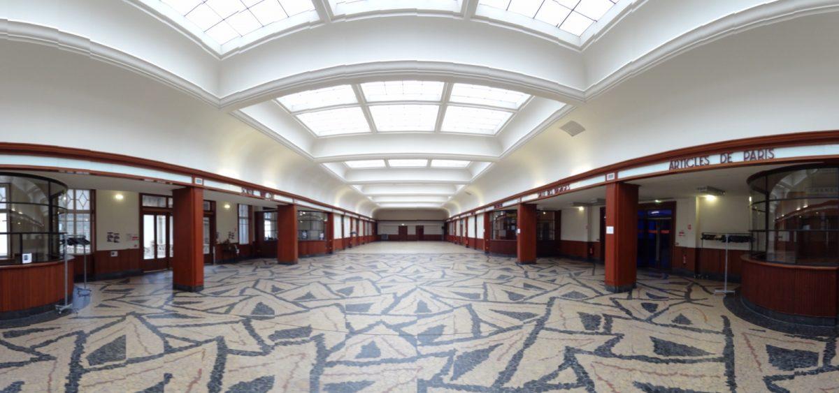 Salle des Pas Perdus de la Cité de la Mer