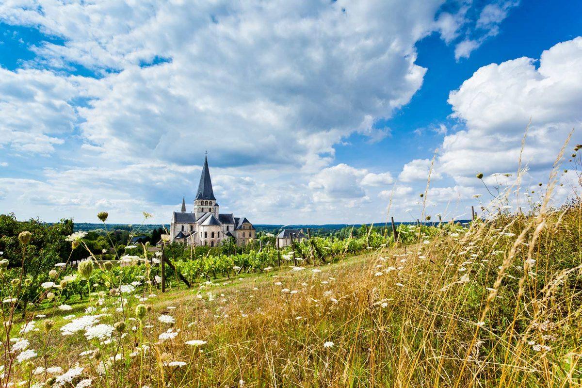 Abbaye Saint-Martin-de-Boscherville et campagne environnante