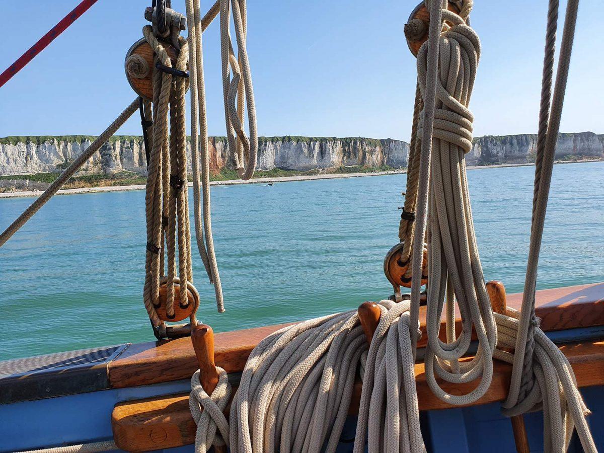 Balade en mer à bord du Mil'Pat