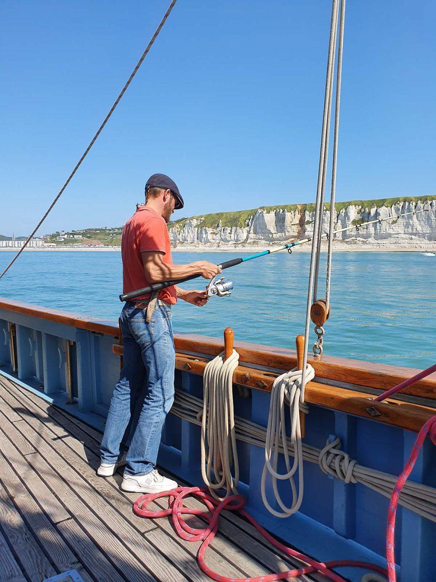 Pêche à bord du Mil'Pat