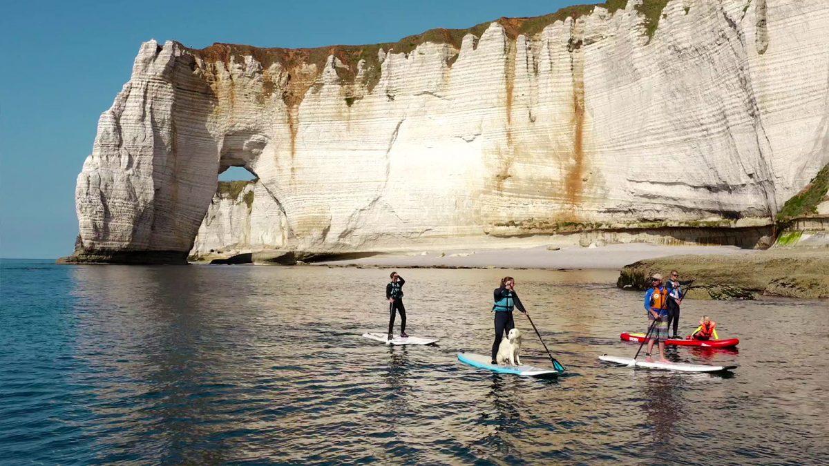 Expérience Découverte des arches d'Etretat en paddle