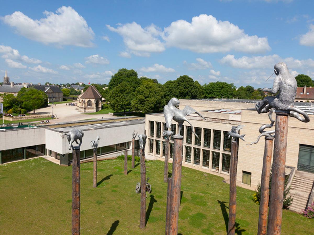 Parc des sculptures au Musée des Beaux-Arts de Caen