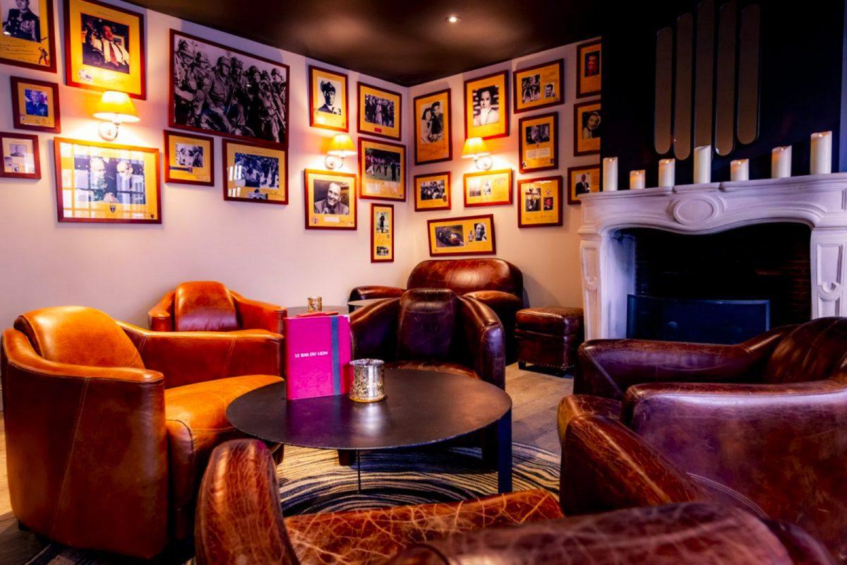 Salon de l'hôtel restaurant La Table du LIon à Bayeux