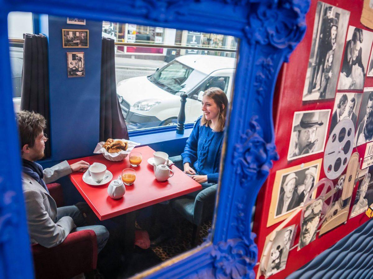 Petit déjeuner à la Villa des Arts, hôtel - restaurant à Lisieux