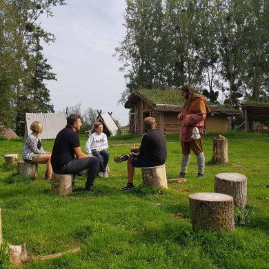 Immersion chez les Vikings au Parc Ornavik