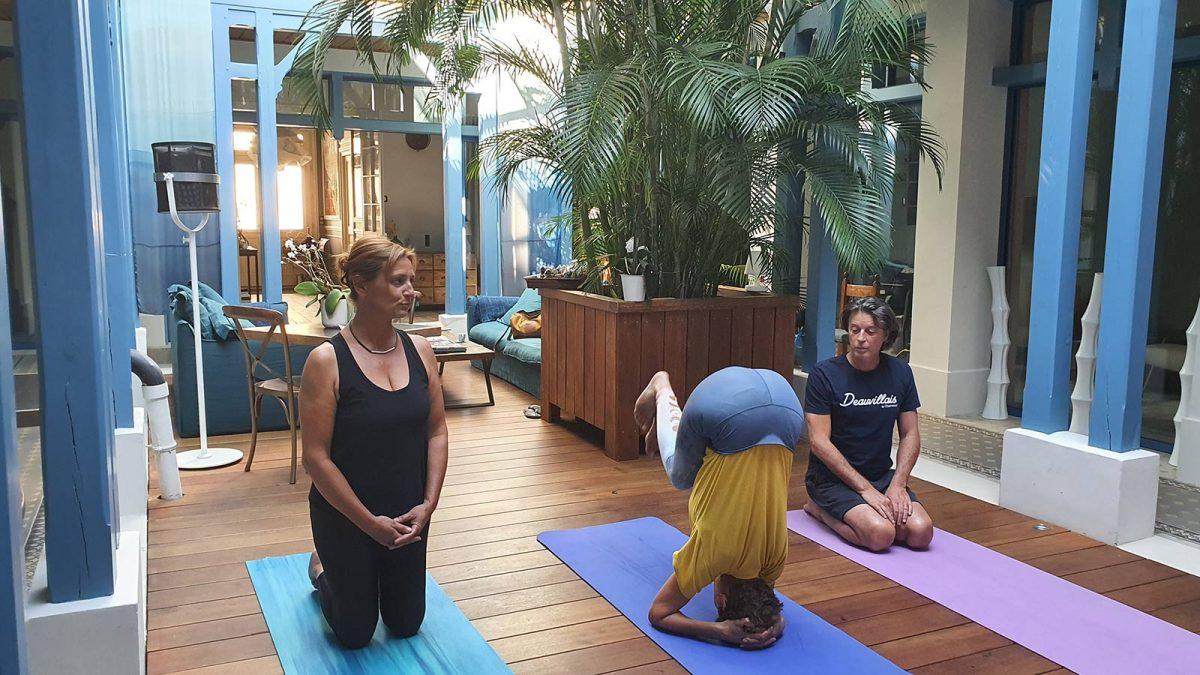 Expérience Relax et Yoga à la Villa d'Eaux à Villers-sur-Mer