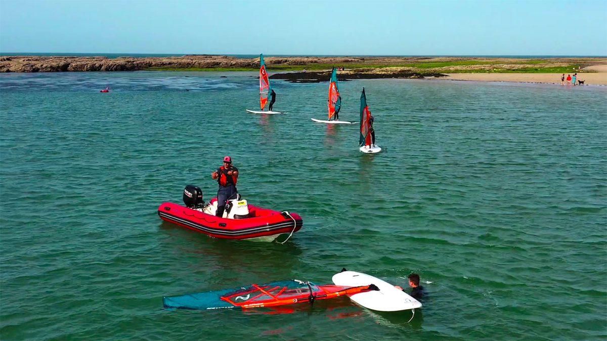 Expérience S'initier au windsurf au Cap de la Hague
